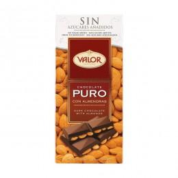 Valor Chocolate Puro Almendra S/Azúcar