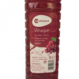 Vinagre Tinto Coaliment 1l
