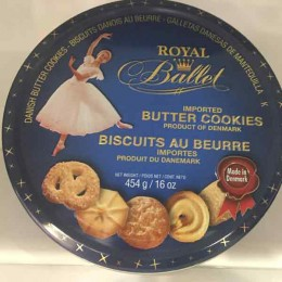 Galletas Royal Ballet Butter Cookies
