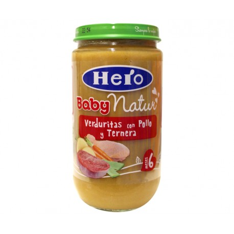 Hero Baby Pollo-Ternera-Verduras