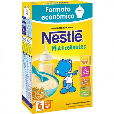 Papilla Nestlé Multicereales 500grs