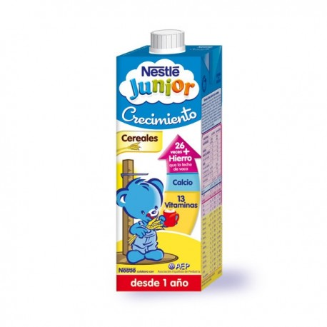Leceh Nestle Junior Crec. Cereales