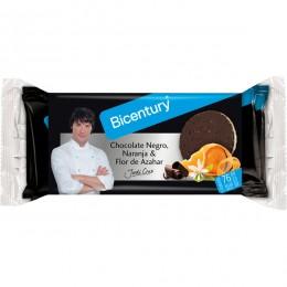 Tort. Bicentury Arroz-chocolate Negro Naranja 132grs