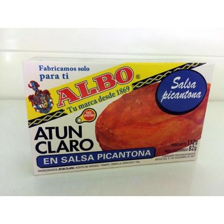 Atun Claro Albo Salsa Picante 112grs