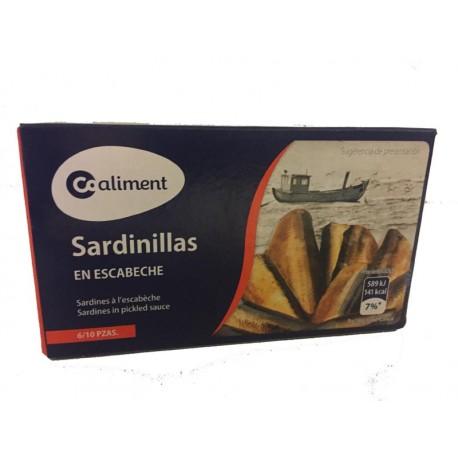 Sardinillas Coaliment Escabeche 90grs