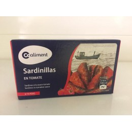 Sardinillas Coaliment Tomate 90grs