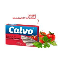 Sardinas Calbo Tomate 120grs
