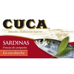 Sardinas Cuca Escabeche 120grs