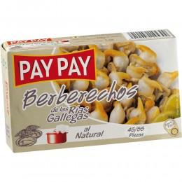 Berberechos Pay Pay Rías Gallegas 45/55 piezas