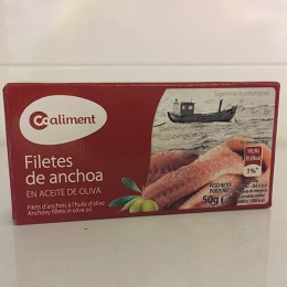 Anchoas Aceite Oliva Coaliment 50gr