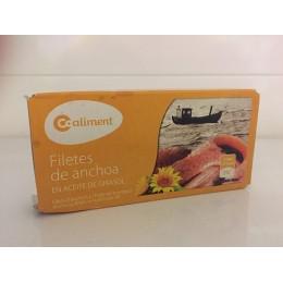Anchoas Aceite Girasol Coaliment 50gr