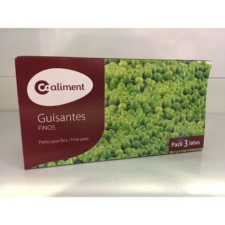 Guisantes Coaliment Pack 3 latas