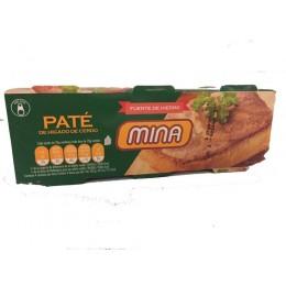 Paté Mina 80gr pack 3 latas