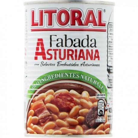 Fabada Asturiana Litoral Lata 435gr