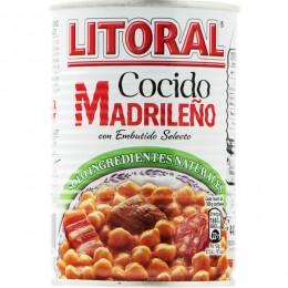 Cocido Madrileño Litoral Lata 440gr