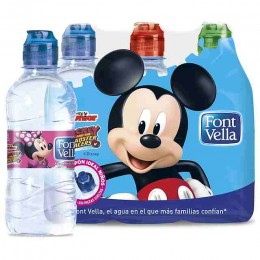 Agua Fontvella Junior 33cl pack 6
