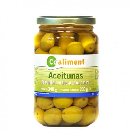 Aceitunas Coaliment Manzanilla Sabor anchoa