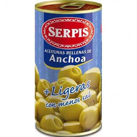 Aceitunas Serpis Rellenas Ligeras 350grs