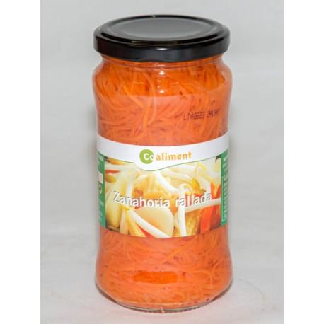 Zanahoria rallada Coaliment Fco. 345gr
