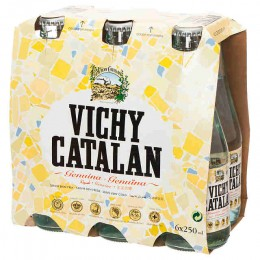 Agua con Gas Vichy Catalan pack 6u