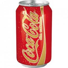 Coca-cola sin Cafeína Lata 33cl