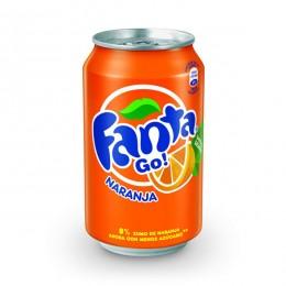 Fanta Naranja Lata 33cl