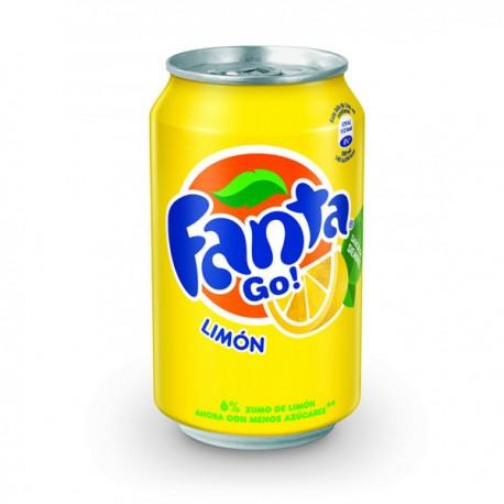 Fanta Limón Lata 33cl