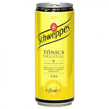 Tonica Schweppes Lata 33cl